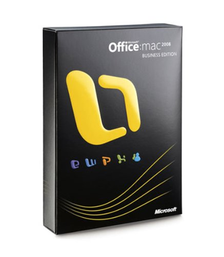 Microsoft Office for Mac 2008 Business Edition [Old Version]