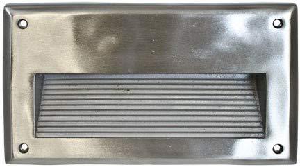 DABMAR LIGHTING DSL1035-SS304 Step Light Recessed Lens 5 Watt PL5 120 Volts, Stainless Stain