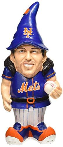 "MLB New York Mets Jacob DeGrom #48 Resin Player Gnome, 8"", Team Color"
