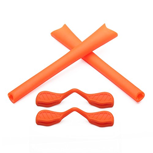 Replacement Earsocks & Nosepieces Rubber Kits for Oakley Radar Path Sunglasses (Orange Kits, - Accessory Kit Oakley Radar Frame