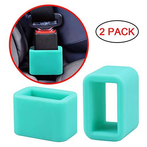Morlike Silicone Belt Buckle Holder (2 Pack, Light Blue)