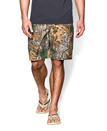 Under Armour UA Camo Fish Hunter Cargo Short - Men's Realtree AP-Xtra / Dynamite 36.0