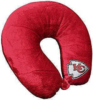 - Bek Brands NFL Kansas City Chiefs Travel Pillow U Neck Pillow | Travel Pillows for Airplanes, Kansas City Chiefs U shaped Neck Pillow for Traveling