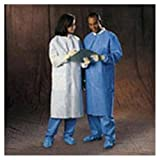 WP000-PT 10032 10032 Coat Basic Plus Lab Blue Three Pocket Large Disposable 25/Ca Kimberly Clark Healthcare