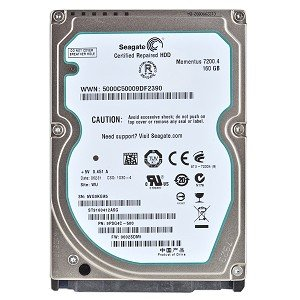 Seagate ST9160412ASG Seagate Sata 160GB Laptop Hard Drives ST9160412ASG -