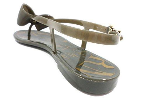 scarpe donna ARMANI COLLEZIONI 38 EU sandali beige gomma ZX204