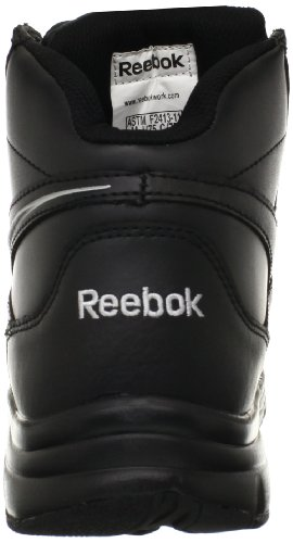 Reebok Work Mens Tarade Rb4275 Comp Toe Esd Work Boot Impression Nero