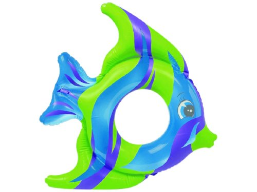 Tropical Fish Ring - Intex Tropical Fish Inflatable Swim Ring (Blue, Green and Purple)