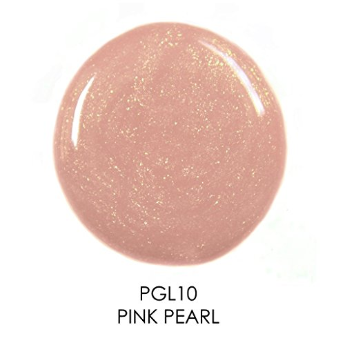Palladio Lip Gloss, Pink Pearl, Non-Sticky Lip Gloss, Contains Vitamin E and Aloe, Offers Intense Color and Moisturization, Minimizes Lip Wrinkles, Softens Lips with Beautiful Shiny Finish