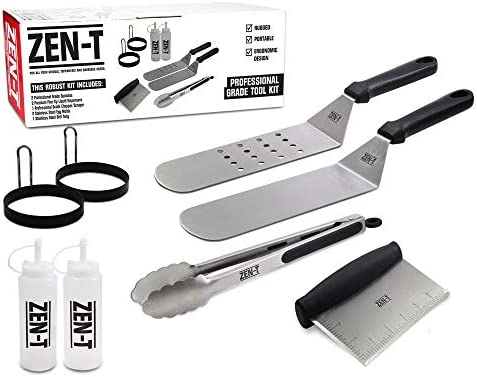 ZEN T Professional Stainless Grilling Utensils product image