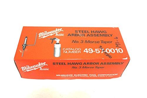 NEW MILWAUKEE 49-57-0010 ARBOR ASSEMBLY 49570010