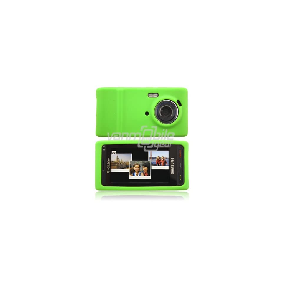 Green Soft Silicone Cover for Samsung Memoir T929 (T Mobile)