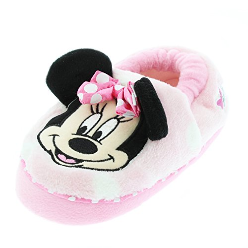 Minnie Mouse Girls Aline Slippers (Toddler)