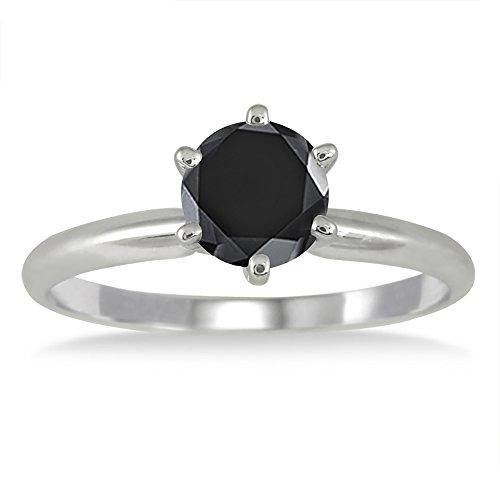 100-Carat-Round-Black-Diamond-Solitaire-Ring-in-14k-White-Gold