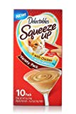 Delectables Squeeze Up Interactive Wet Cat Treats - Chicken & Tuna - 10 Count Variety