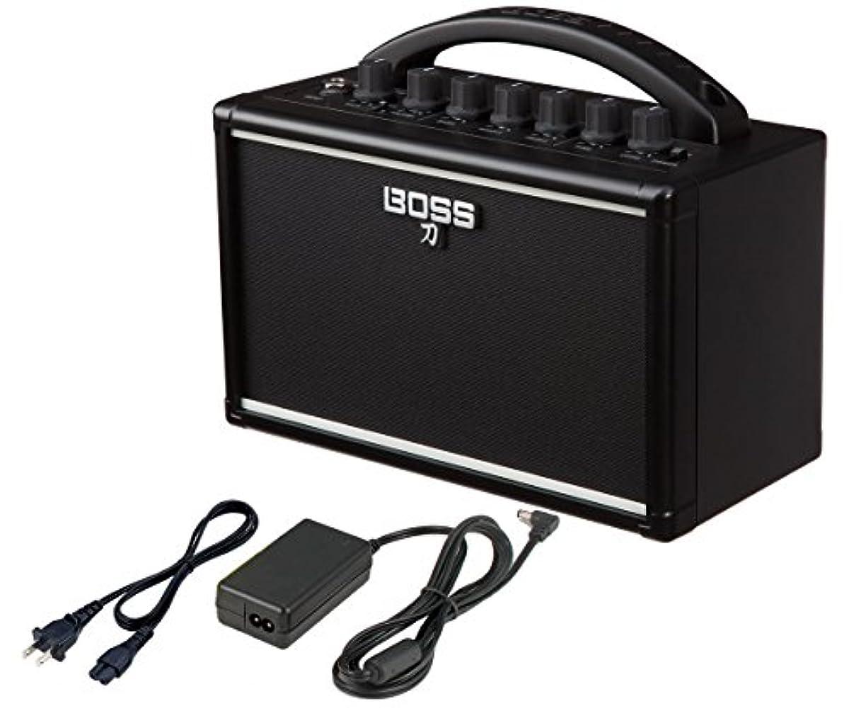 [해외] BOSS / KATANA-MINI (전용 어댑터PSB-100 부세트)KTN-MINI 보스 기타 앰프 전지 구동 포터블 앰프
