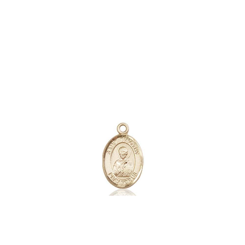 14kt Gold St Timothy Medal