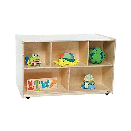 Wood Designs WD62600 Double-Sided Storage Island, 30 x 48 x 29