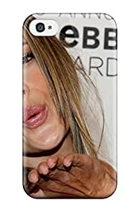 New Fashionable ZippyDoritEduard ZDexYPg464jKuLE Cover Case Specially Made For Iphone 4/4s(alessandra Ambrosio Kiss )