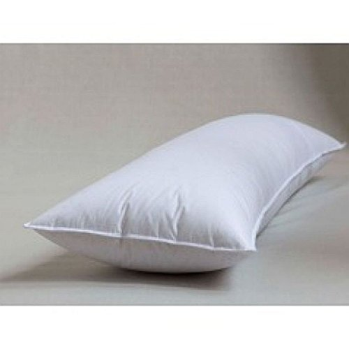 "Down & Feather Full Support Body Pillow 20"" X 60"" - With Zippered Protector"