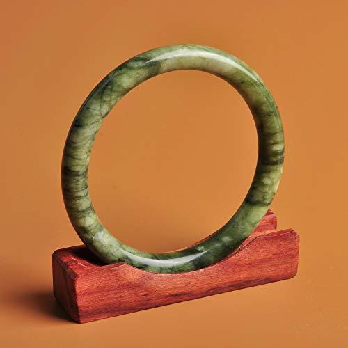 Mayanyan Natural Xiuyu Jade Bracelet A Goods Jewelry Lady Gift ()