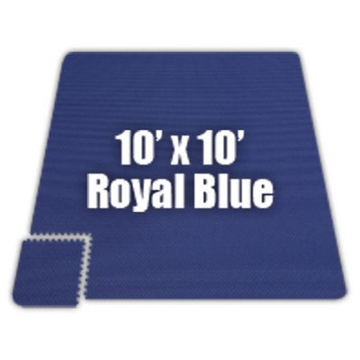 Premium SoftFloors Set in Royal Blue [Set of 8] Size: 20′ x 50′