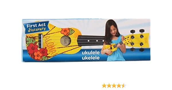 Amazon.com: First Act Discovery Hawaiian Ukulele - FG4023: Musical Instruments