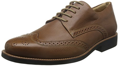 Anatomic&Co Manaus Mens Smart Lace Up Schuhe Leder Brown