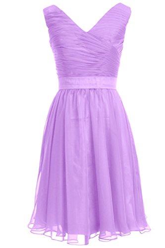 MACloth - Robe - Femme violet 54