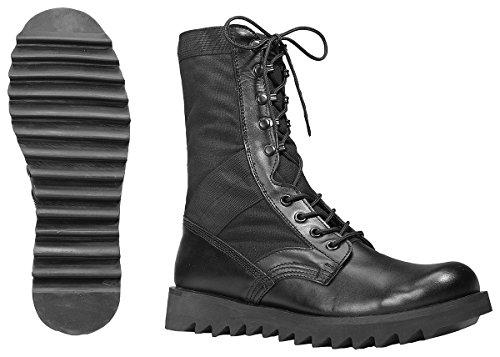Boot Rothco 10'' Jungle Ripple Black Sole AMHTUIyKH