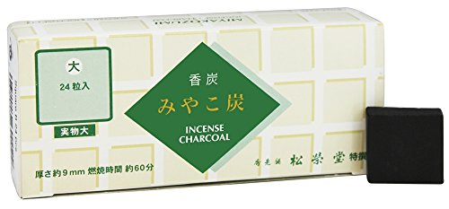 Square Charcoal - Shoyeido - Square Charcoal Type B - 24 Piece(s)