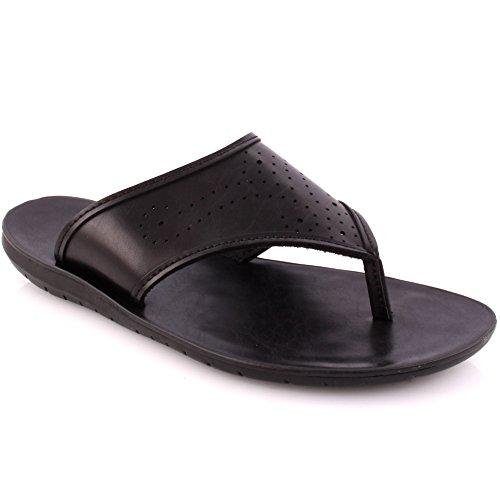 New Black 8 UK Slippers Men's 'Julio' Unze Size Casual wTXO60x