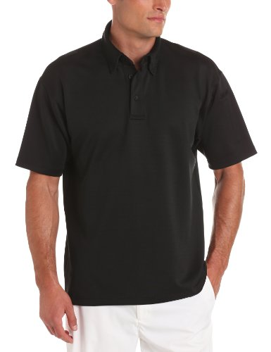 Propper Men's I.C.E. Men's Short Sleeve Performance Polo Shirt, Black, 3X-Large Regular
