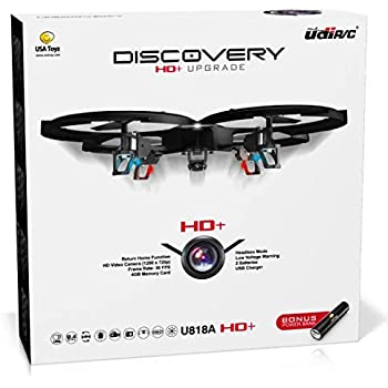 Amazoncom Sharper Image Quad Smart Drone With Video Cell Phones
