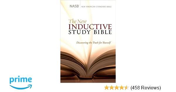 The New Inductive Study Bible (NASB): Precept Ministries