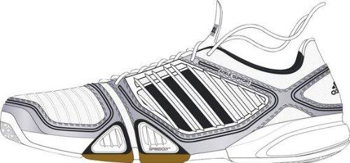 adidas Herren-Indoorschuh 6-3-1 TEAM CC MEN (runni