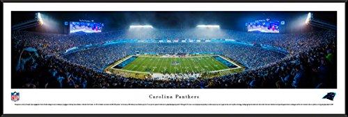 (Carolina Panthers - 50 Yard - Blakeway Panoramas NFL Posters with Standard Frame)
