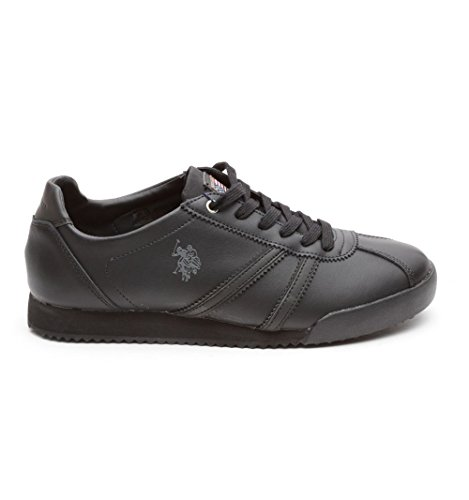 US Polo Association , Baskets pour homme - noir - noir, 41 EU