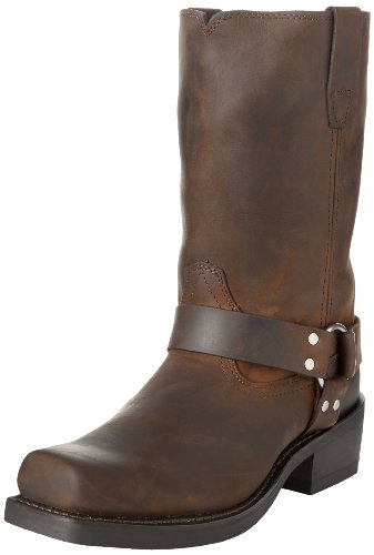 Cowboy Distressed Brown Pelle Da Stivale Head Durango West HwnXqpx6