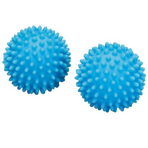 Household Essentials PVC Dryer Balls, Blue, Set of 2