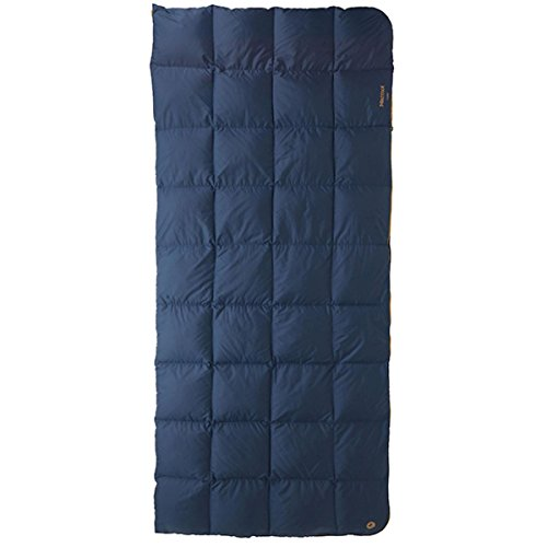 Down Marmot Sleeping Bags (Marmot Yurt 35F Sleeping Bag - Left Zipper - Navy/Chestnut)