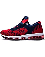 Onemix Air Homme Baskets Fitness Femme Chaussures de Course Jogging Gym Mid-Top Sport Running Sneakers Mixte Adulte