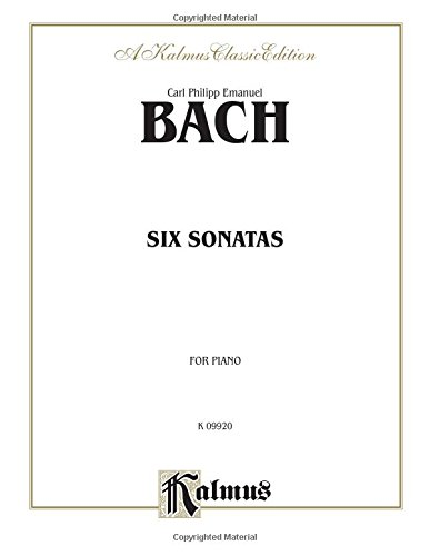 Keyboard Sonatas (Six Sonatas (Kalmus Edition))