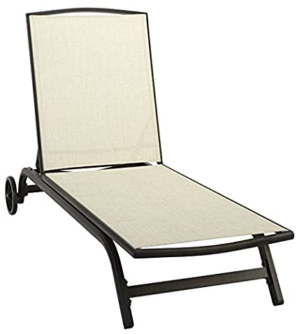 Pleasant Amazon Com Living Accents 751 003 000 Aegean Sling Chaise Camellatalisay Diy Chair Ideas Camellatalisaycom
