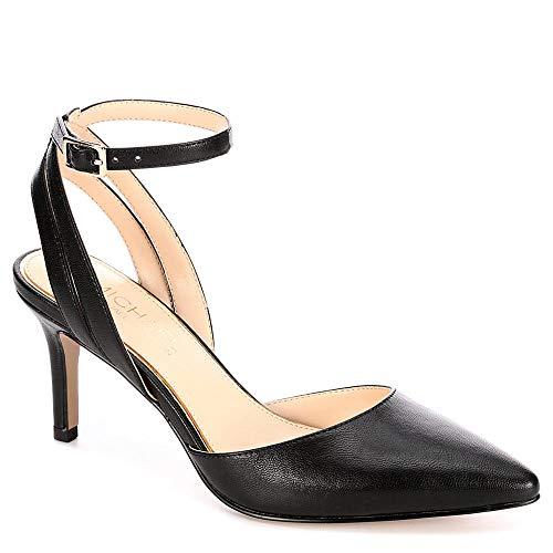 Michael By Michael Shannon Womens Hayley Pump Shoes, Black, US 8 (Kitten Mule)