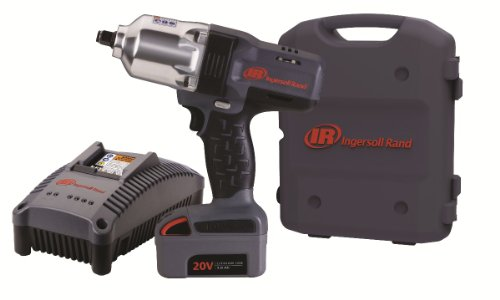 "Tool Ingersoll Rand Co (Ingersoll Rand W7150-K1 ½"" Hi-Torque Impact One Battery Kit)"