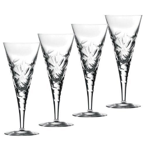 Royal Doulton Crystal Glasses, Set of 4 Goblets 260 Ml. (Central Park Collection)