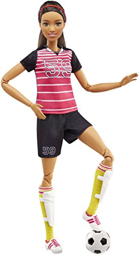 Barbie® Made to Move Barbie Doll, Blue Top - 4
