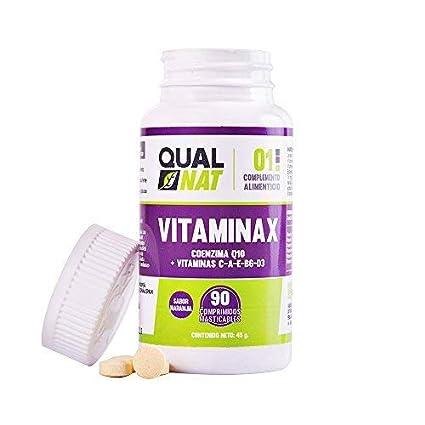 Qualnat Multivitaminas con vitamina D3, vitamina C, vitamina E, vitamina A y vitamina B6 para ayudar al funcionamiento de nuestro cuerpo – 90 ...