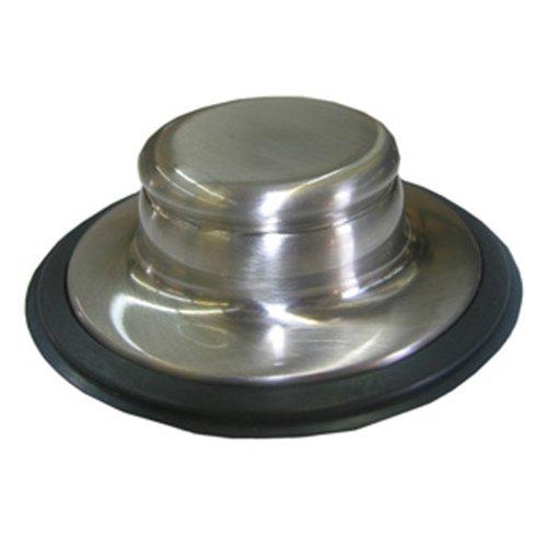 LASCO 30151SN Garbage Disposal Sink Stopper for InSinkErator Brand, Satin Nickel by LASCO